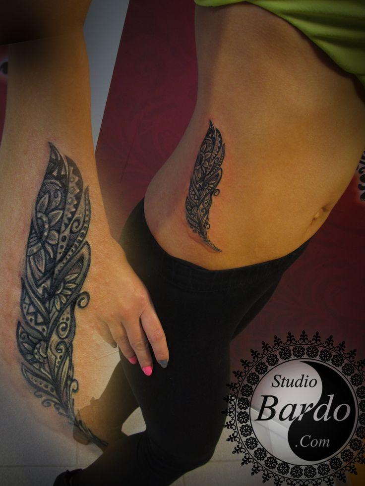 #tattoo #tatooartist #ink #inked #blackandwhite #feather #studio #bardo #studiobardo