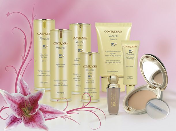 Coverderm Vanish range