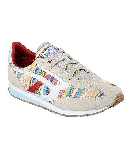 BOBS from Skechers Natural BOBS Sunset Boardwalk Babe Athletic Shoe - Women | zulily