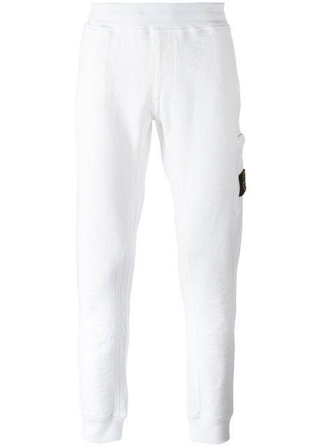 STONE ISLAND side patch pocket sweatpants. #stoneisland #cloth #sweatpants