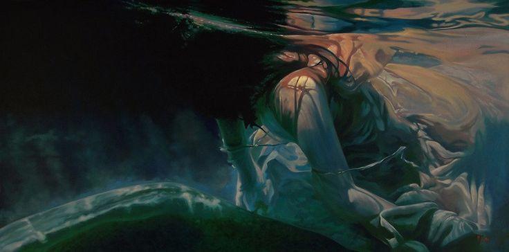 """Mark Heine nos presenta estas maravillosas obras bajo el título """"Sirens"""". Mark, su compañera y colaboradora creativa, Lisa Leighton y sus dos hijas, Sarah y Charlotte, viven en Victoria…"""