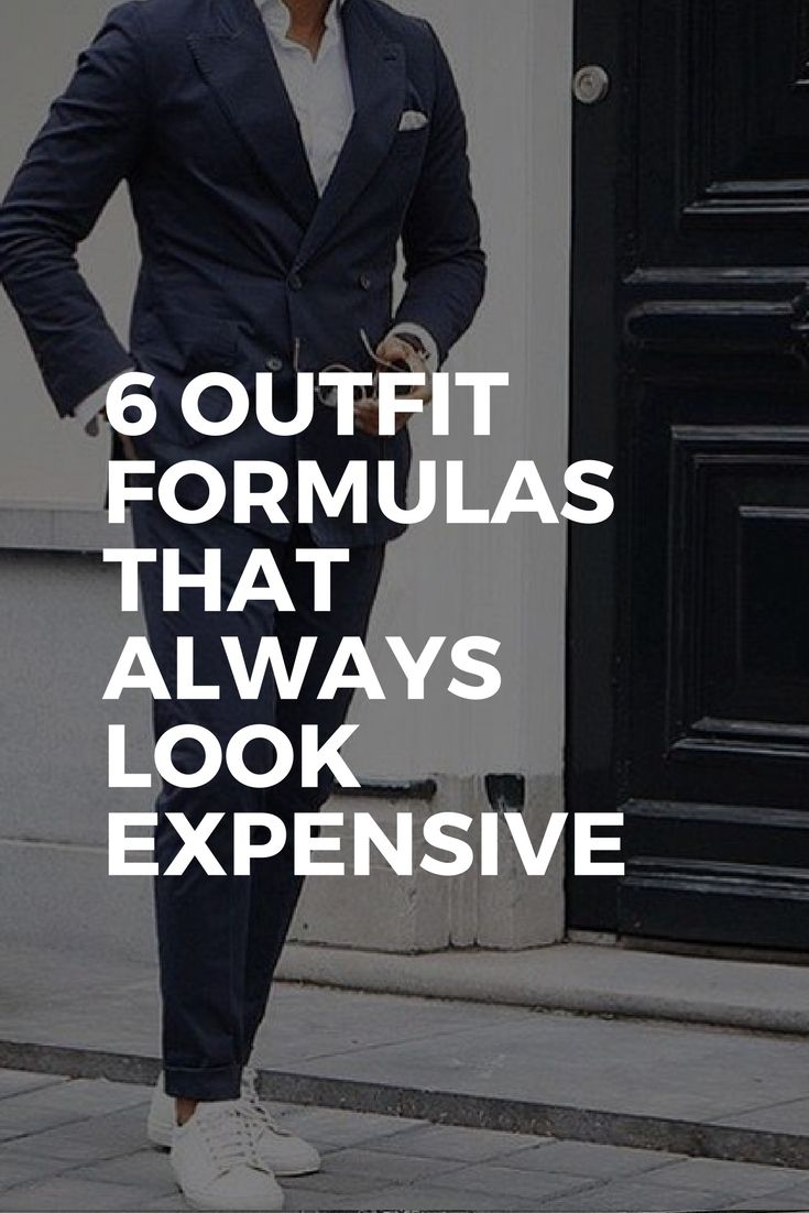 6 Outfit Formulas That Always Look Expensive | Best suits