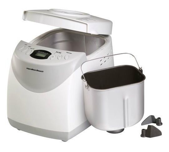 New Automatic Breadmaker Machine 2 lb pound Large Loaf Pan Dough Kneading Paddle