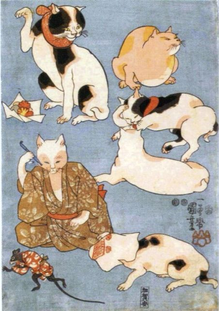 Utagawa Kuniyoshi was one of the last great masters of the Japanese ukiyo-e style of woodblock prints and painting. He was a member of the Utagawa school.Wikipedia Born:January 1, 1797,Died:April 14, 1861,