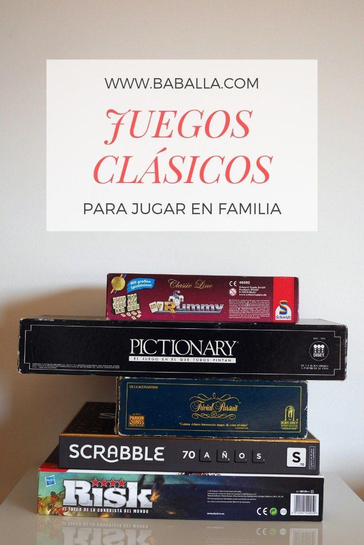 Juegos En Familia Recuperamos Los Clásicos Baballa Un Blog De Familia Juegos Clásicos Juegos Familiares Juegos