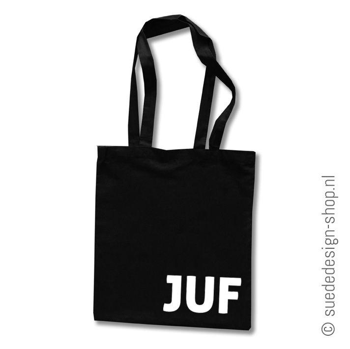 Geen plastic tasjes meer, dit wordt je nieuwe favoriete boodschappentas van jouw juf! Leuk om te geven aan het einde van het schooljaar of met haar verjaardag! #suededesign