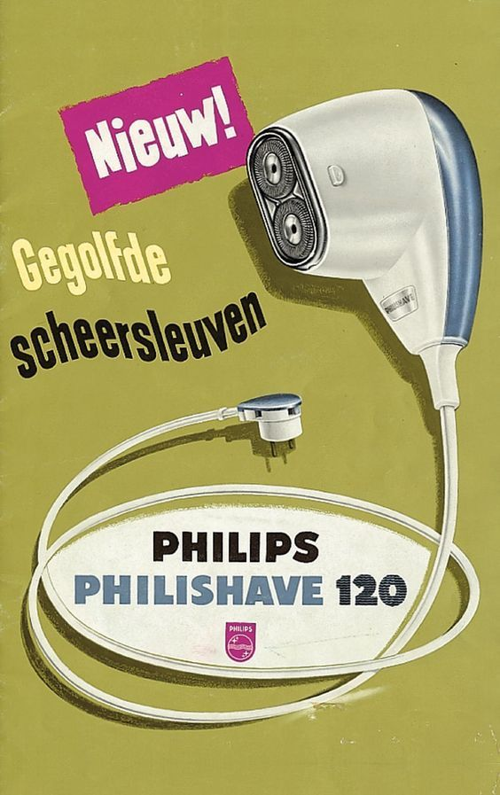 Philishave 1961...My dad had one of these.