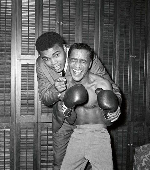 Boxer Muhammad Ali & Multi-Enterteiner Sammy Davis Jr.