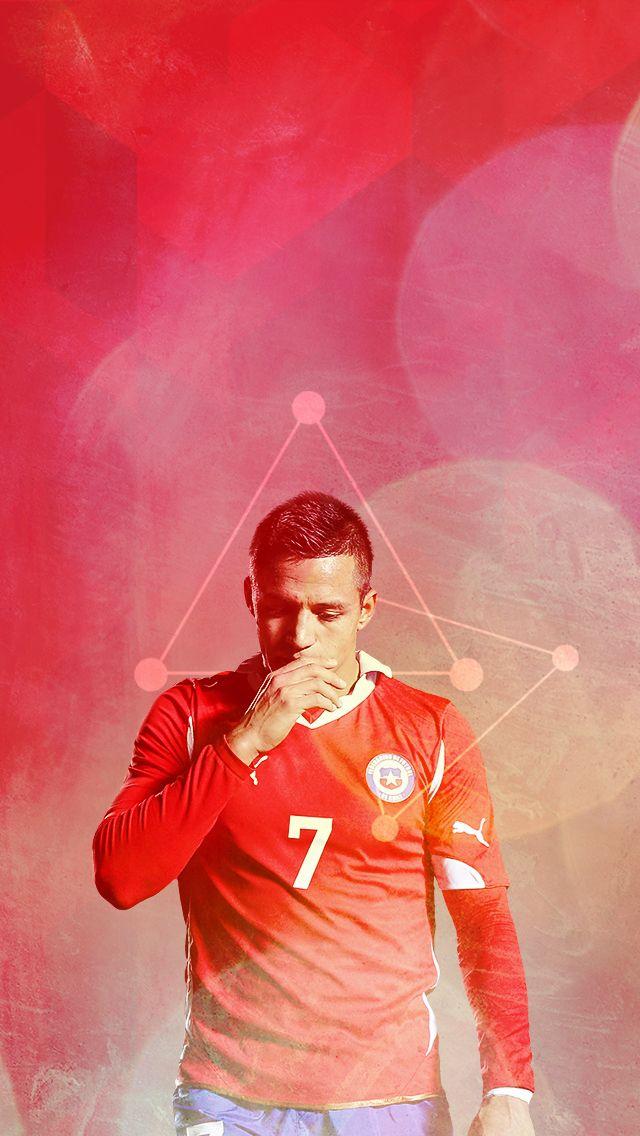Alexis Sanchez. Lock screen.