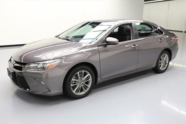 nice Awesome 2016 Toyota Camry  2016 TOYOTA CAMRY SE REAR CAM BLUETOOTH ALLOYS 38K MI #185544 Texas Direct Auto 2017 2018