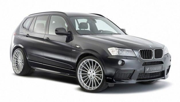HAMANN BMW X3 front