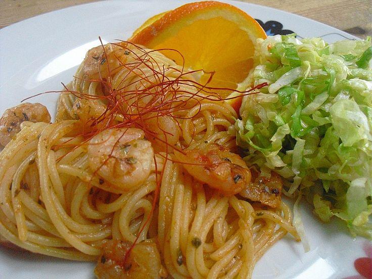 Spaghetti aglio olio e scampi, ein schönes Rezept aus der Kategorie Krustentier & Muscheln. Bewertungen: 122. Durchschnitt: Ø 4,6.