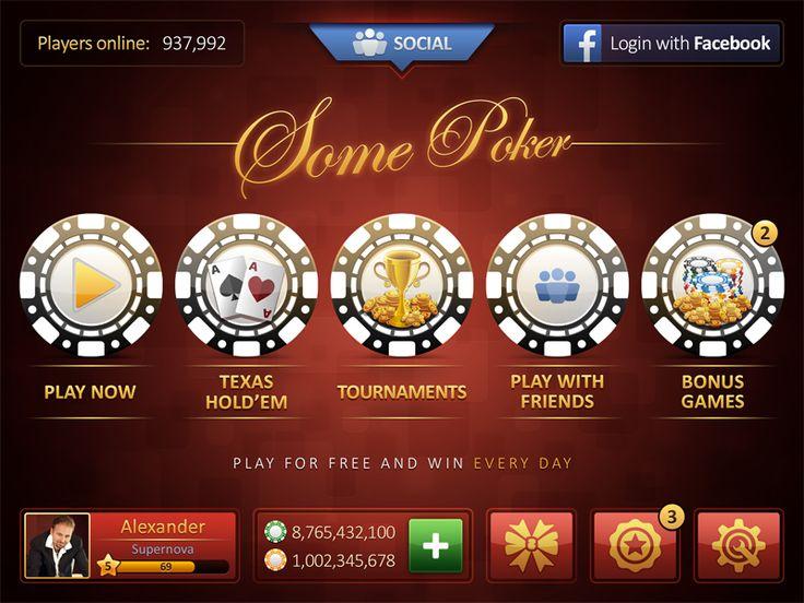 Poker Ui Red