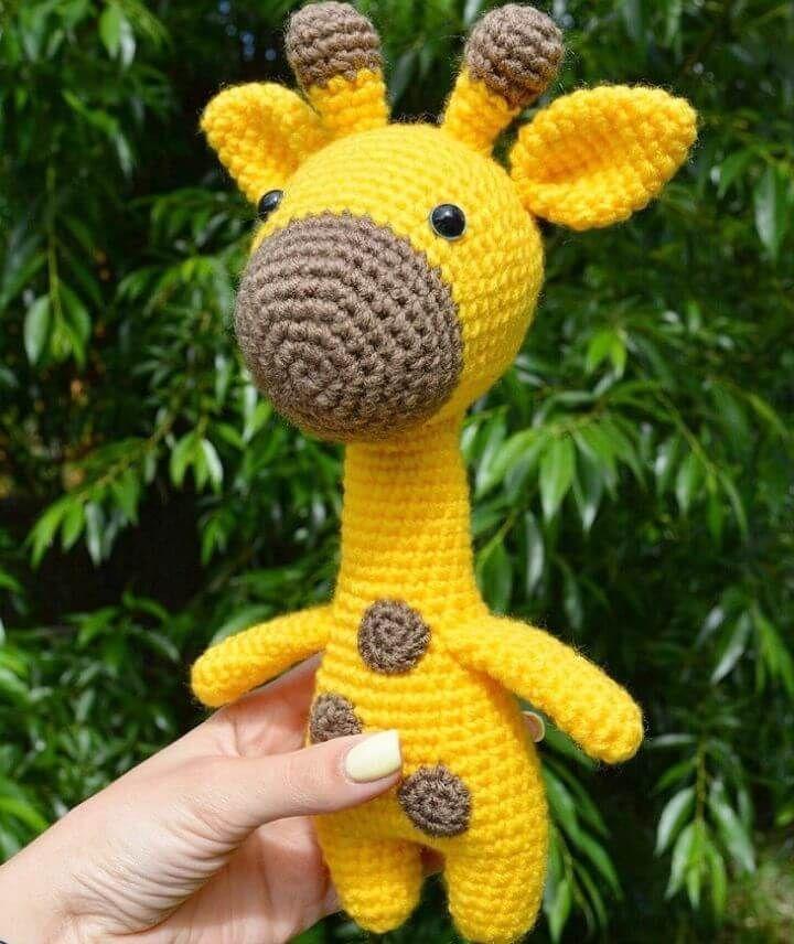 amigurumi giraffe deutsch Hippo and Giraffe Amigurumi Free Crochet ... | 856x720