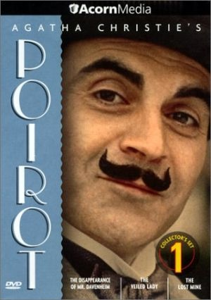 Agatha Christie's Poirot- great detective series once aired on PBS