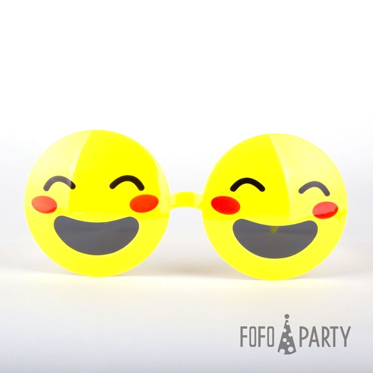 The yellow smiling face glasses make a highly entertaining and charming party costume accessory. One size for all.