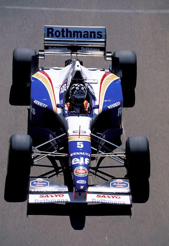 1996 Damon Hill, Williams FW18 Renault