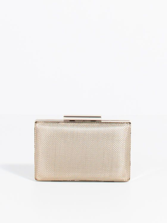 Forever Party Clutch, Golden