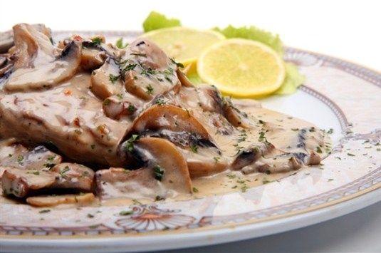 Как приготовить соус Карбонара с грибами?