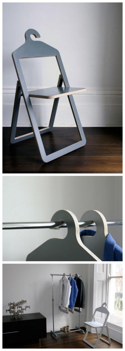 Hanger Chair = Hanger + Chair!