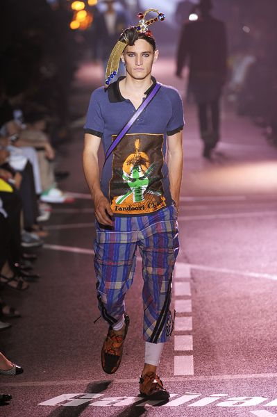 John Galliano, Summer 2009-Menswear,Look 6
