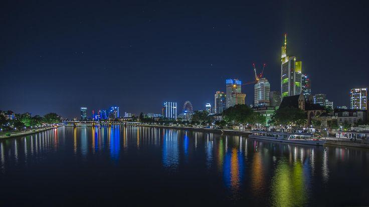 Photograph Frankfurt Skyline by Björn Dohlich on 500px