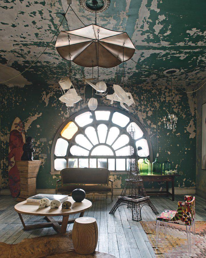 David Bromley's Studio in Prahran, Melbourne