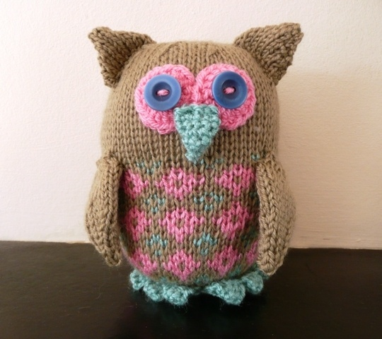 French Knitting Owl Doll : Best images about knitted products on pinterest