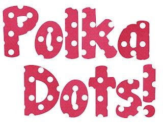 Classroom Freebies Too: Polka Dot Bubble Letters