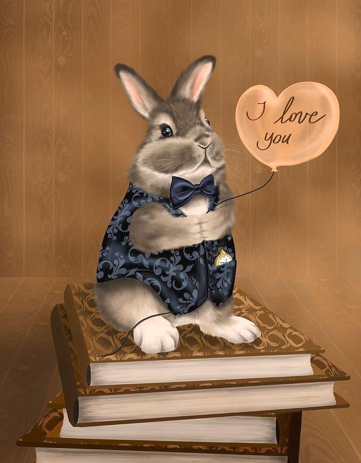 Люблю своего зайца картинки