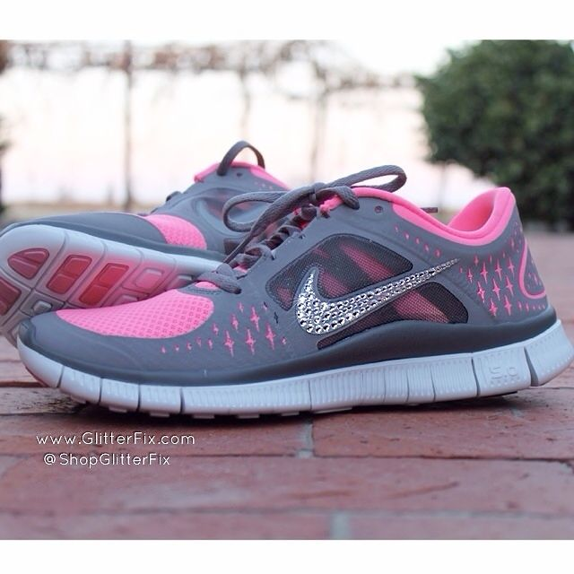gorgeous brand new customized pair of quot nike free run 3 in