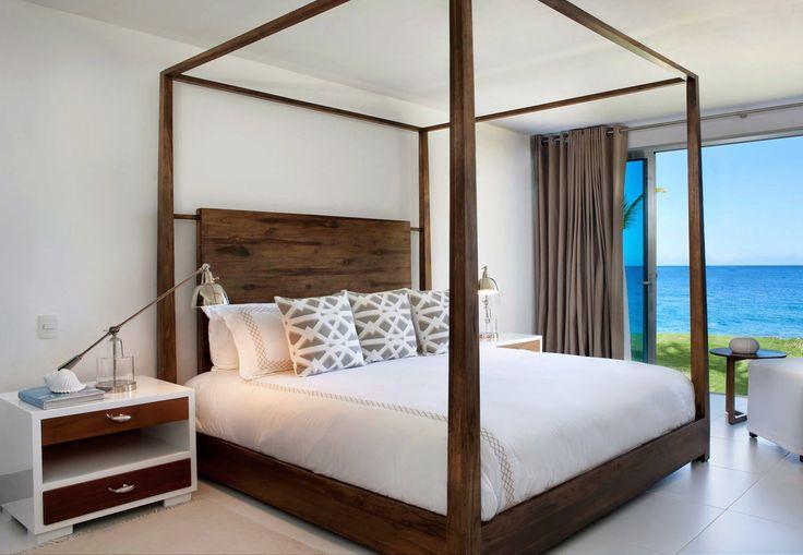 Gansevoort Dominican Republic Sosua, Caribbean Beachfront Bedroom Luxury Modern property Suite cottage Villa bed frame