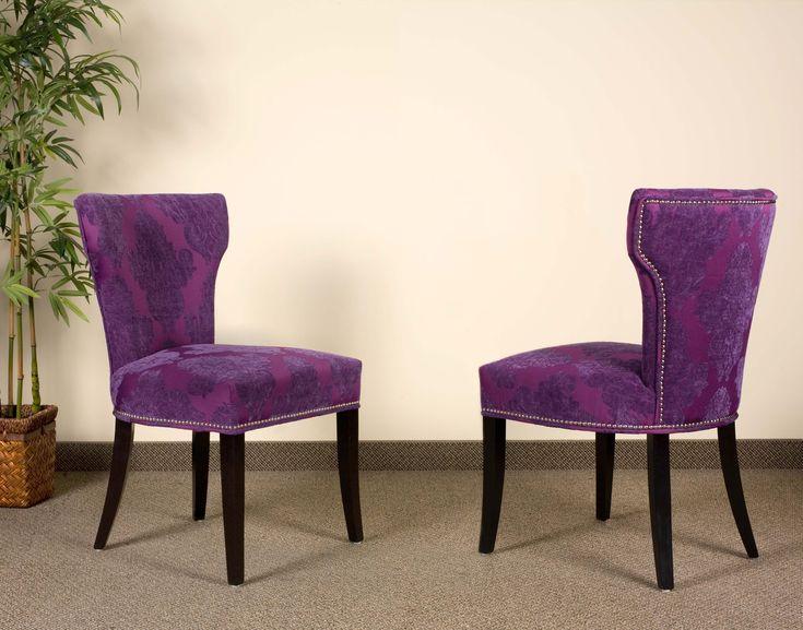 turquoise blue velvet damask furniture  Parsons Leather Chairs  Mississauga  Oakville