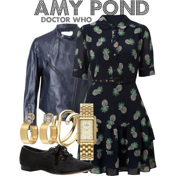 Amy Pond - Polyvore