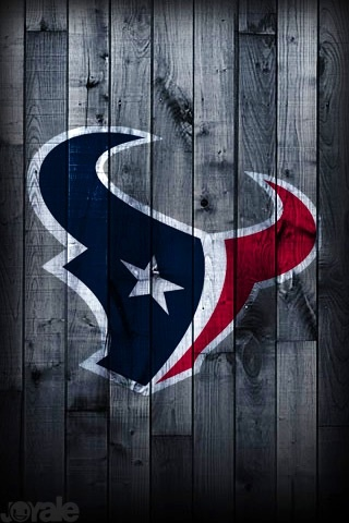 Houston Texans, very cool painted on a fence