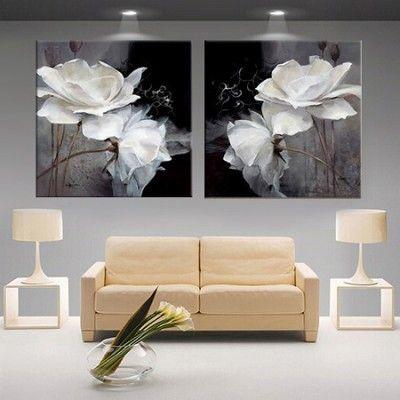 cuadros para salon moderno grande