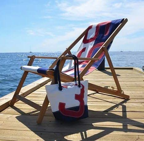 chaise longue voile de bateau