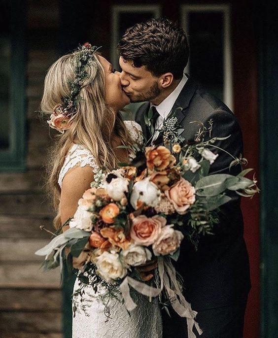 Ame as cores para um casamento do outono! O que outras pessoas estão dizendo   – WEDDING THINGS.