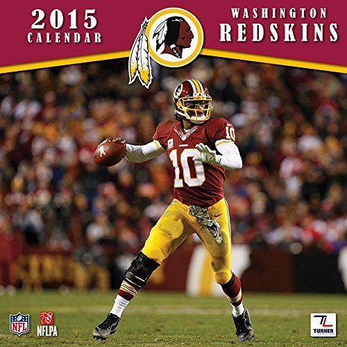 Turner Perfect Timing 2015 Washington Redskins Team Wall Calendar, 12 x 12 Inches (8011717)