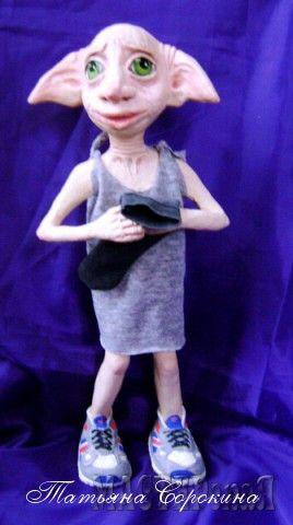 Хозяин подарил Добби носок...