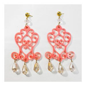 Guendalina Bottega Creativa Chandelier Rosa