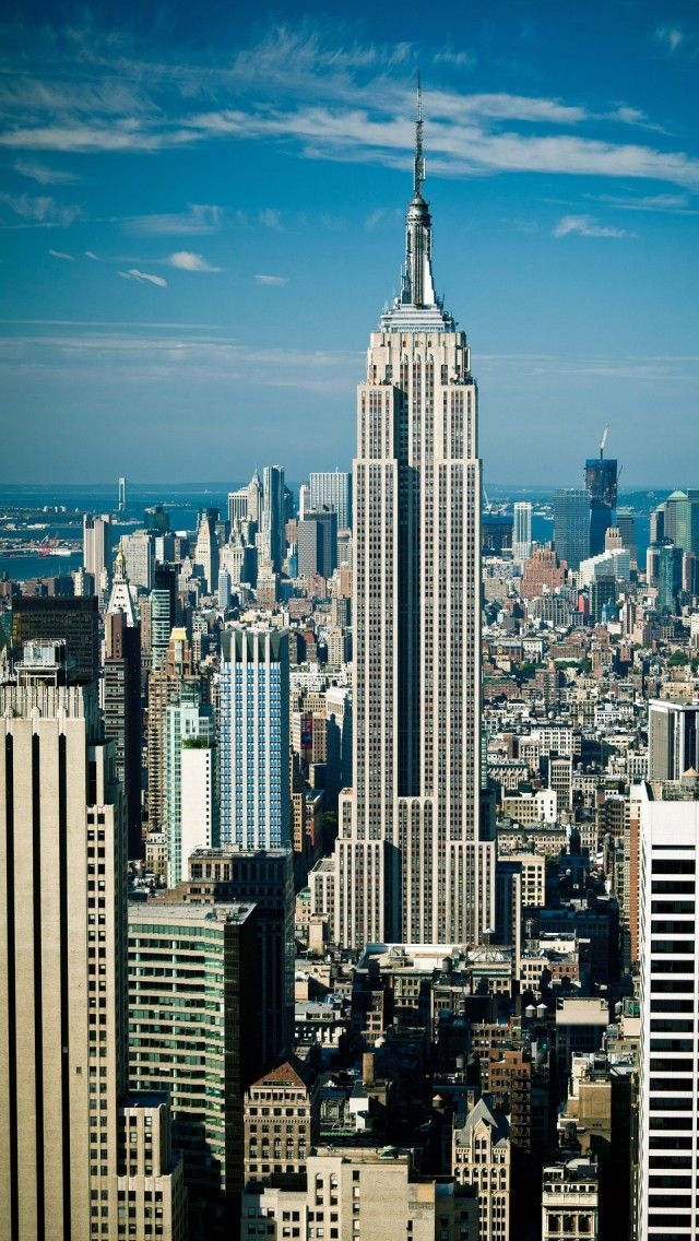 The Empire State Building New York IPhone 5 Wallpapers Backgrounds 640 X 1136