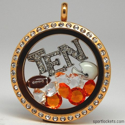 Tennessee college football locket necklace – SportLockets.com