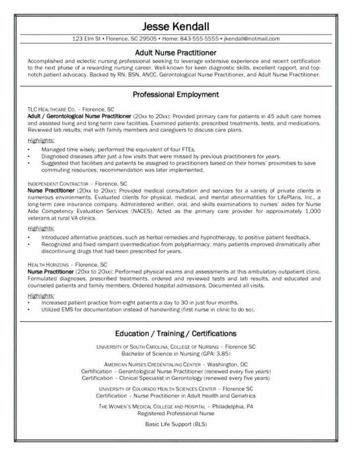Nursing Resume Objective Samples Awesome Professional Nurse Resume Template Fitfathers In 2021 Nursing Resume Template New Grad Nursing Resume Nursing Resume
