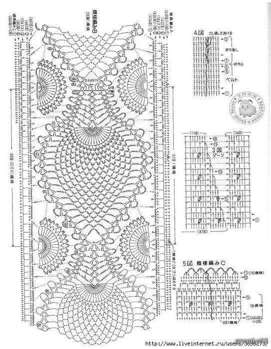 Юбка с красивой каймой - запись пользователя marinka1961 (МАРИНА) в сообществе Вязание крючком в категории Женская одежда крючком. Схемы и описание