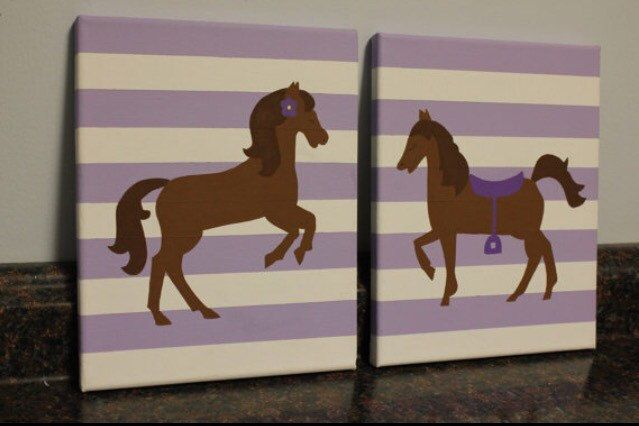 girl horse nursery horse room decor horse wall art purple horse decor pink horse decor toddler horse room personalized wall art cowgirl by JessieAnnCreations on Etsy https://www.etsy.com/listing/235987474/girl-horse-nursery-horse-room-decor