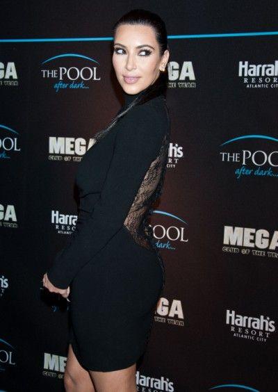 Kim Kadashian Leaves The Butt Pads Behind