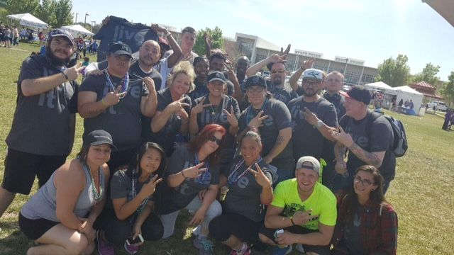 We were glad to see Desert Hope alumni, Solutions Recovery, Inc. alumni, and American Addiction Centers alumni join us for American Foundation for Suicide Prevention 2016 Las Vegas Walk to Prevent Suicide!