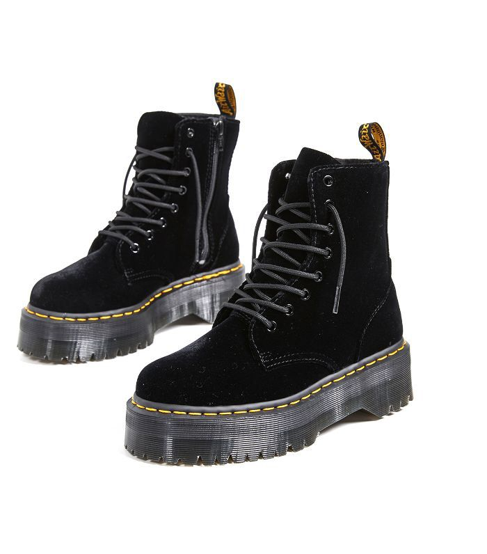 super specials los angeles popular stores Jadon 8 Eye Velvet Boots | Shoes in 2019 | Doc martens, Lace ...