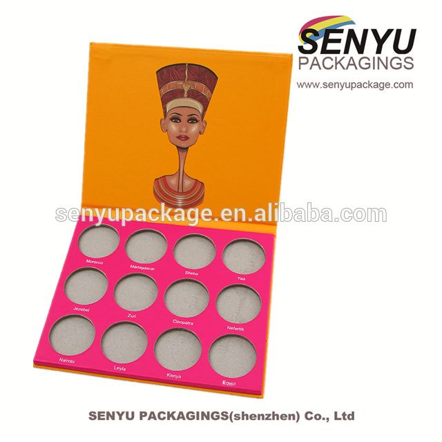 China Manufacturer Custom Printing Makeup Palette Packaging